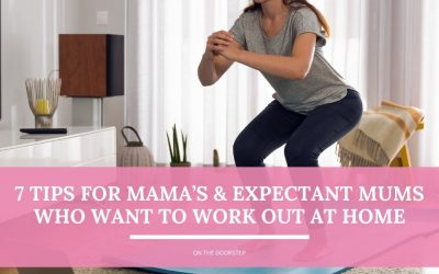 7 Tips for Mama's & Expectant Mums Who Want to Work Out at Home