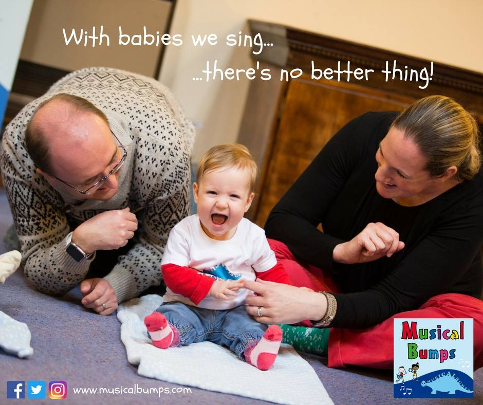 Singing with your baby