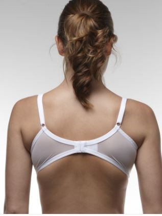 Bra isn't fitting properly if the back is riding up.