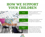 How can we support your child?