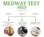We offer progression from year 4 through to the final test